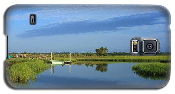 Tidal Marsh At Wrightsville Beach Galaxy S5 Case
