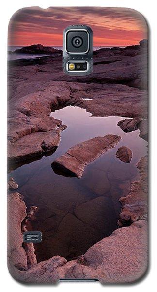 Tide Pool Geometry Galaxy S5 Case