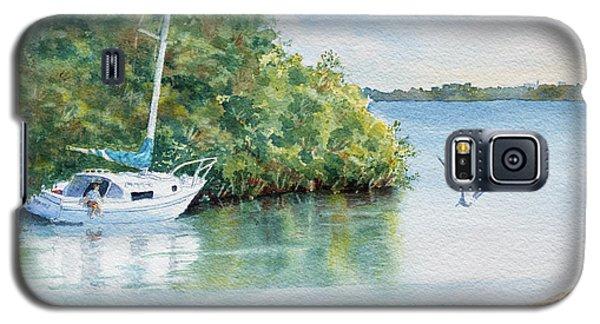 Tide's Out Galaxy S5 Case by Roger Rockefeller