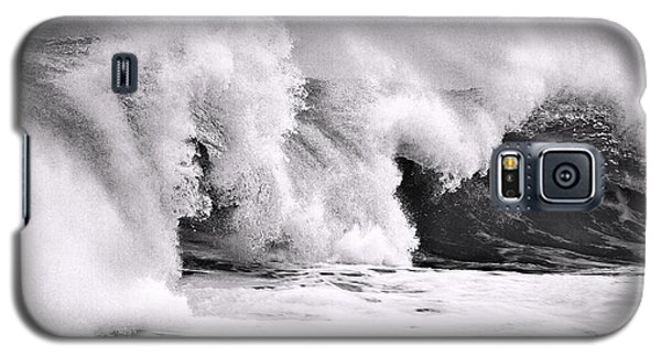 Tides Will Turn Bw By Denise Dube Galaxy S5 Case