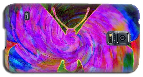 Tie-dye Butterfly Galaxy S5 Case by Elizabeth McTaggart