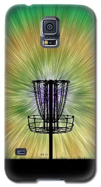 Tie Dye Disc Golf Basket Galaxy S5 Case