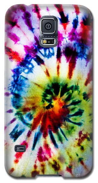 Tie Dyed T-shirt Galaxy S5 Case