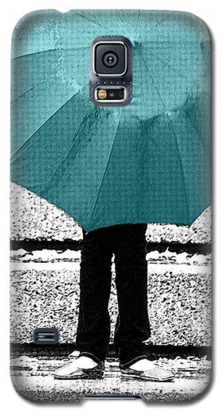 Tiffany Blue Umbrella Galaxy S5 Case