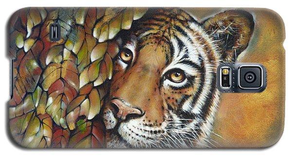 Tiger 300711 Galaxy S5 Case by Selena Boron