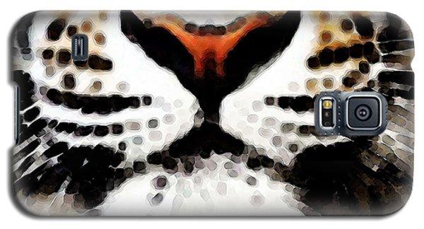 Tiger Art - Burning Bright Galaxy S5 Case