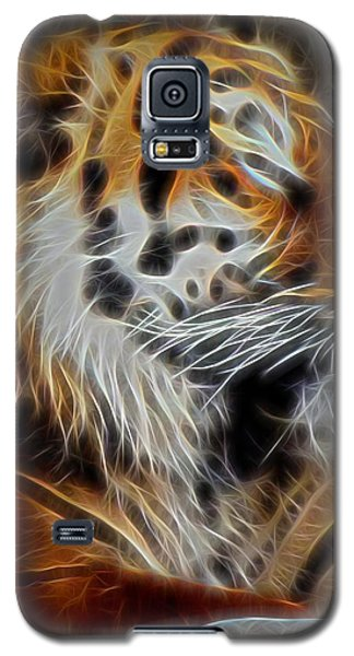 Tiger At Rest Galaxy S5 Case