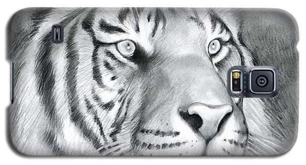 Tiger Galaxy S5 Case - Tiger by Greg Joens