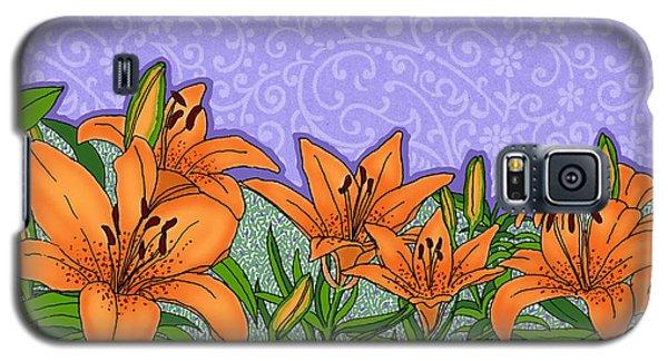 Tiger Lilies Galaxy S5 Case