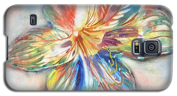 Tiger Lilly Galaxy S5 Case by Mary Haley-Rocks