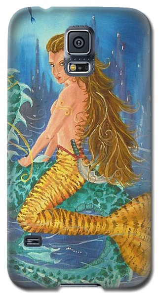 Tiger Lily Tails Galaxy S5 Case