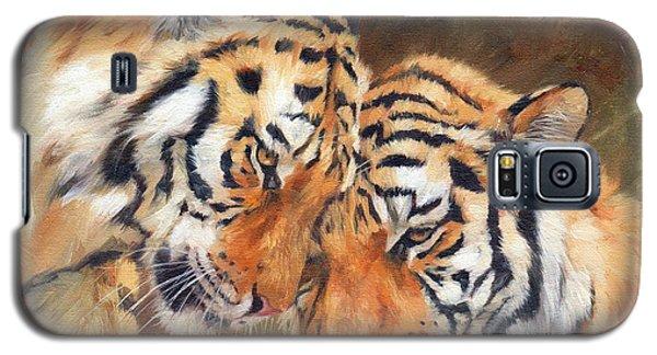 Tiger Love Galaxy S5 Case by David Stribbling