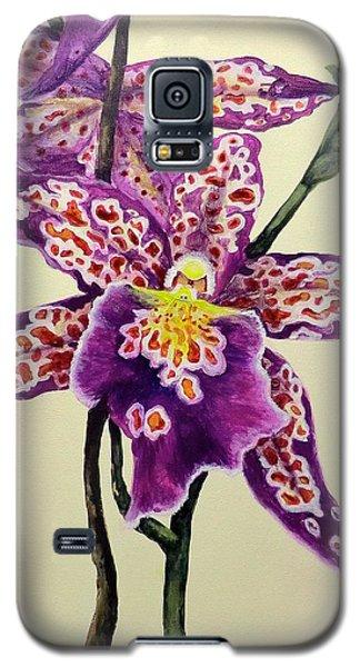 Tiger Orchid Galaxy S5 Case