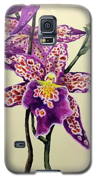 Tiger Orchid Galaxy S5 Case