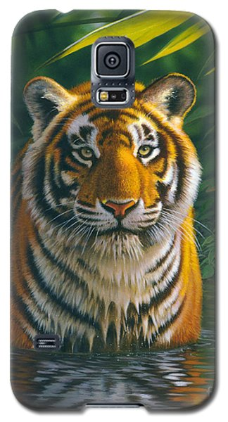 Tiger Pool Galaxy S5 Case