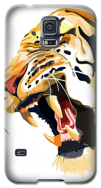 Tiger Roar Galaxy S5 Case by Sassan Filsoof