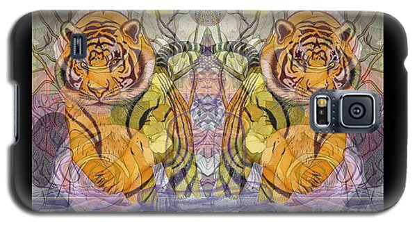Tiger Spirits In The Garden Of The Buddha Galaxy S5 Case