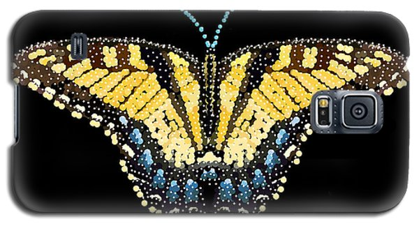 Tiger Swallowtail Butterfly Bedazzled Galaxy S5 Case