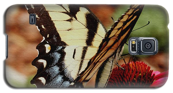 Galaxy S5 Case featuring the photograph Tiger Swallowtail  by James C Thomas