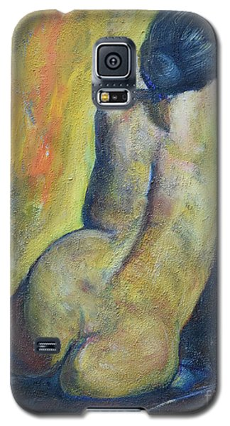 Tiina - Back Of Nude Woman Galaxy S5 Case