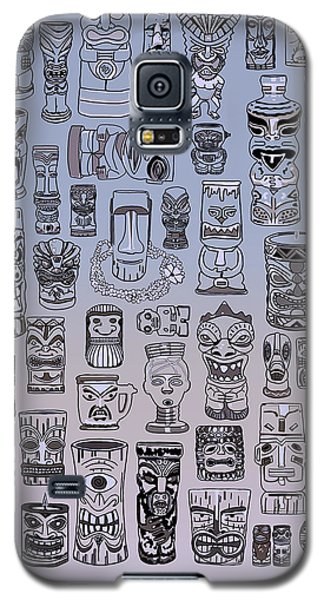 Tiki Cool Zone Galaxy S5 Case by Megan Dirsa-DuBois