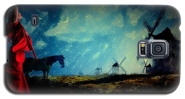 Tilting At Windmills Galaxy S5 Case