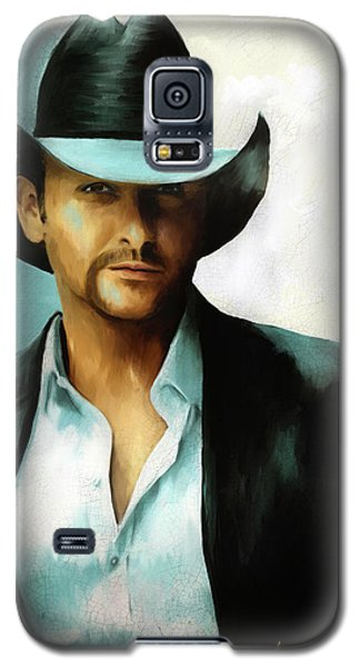 Tim Mcgraw Galaxy S5 Case