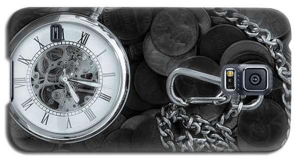 Time And Money Galaxy S5 Case