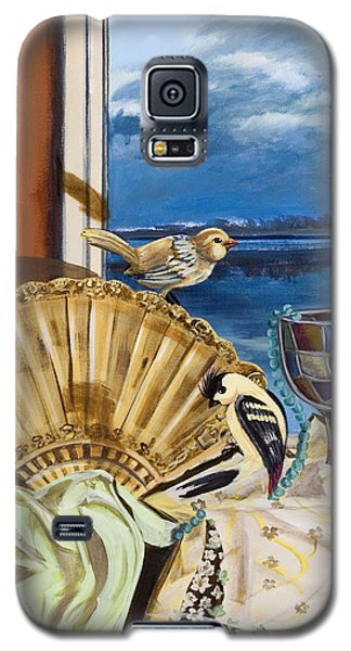 Time Flies Galaxy S5 Case by Susan Culver