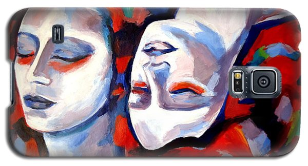 Galaxy S5 Case featuring the painting Time Goes By by Helena Wierzbicki