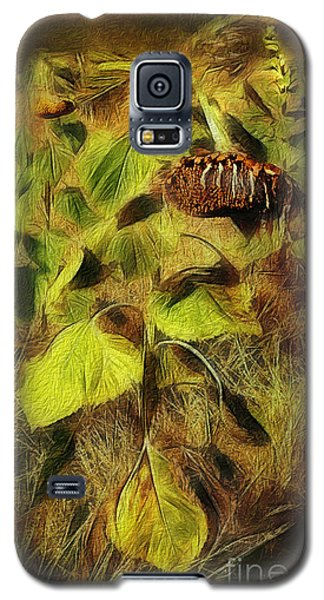 Galaxy S5 Case featuring the digital art Time Is The Enemy by Rhonda Strickland