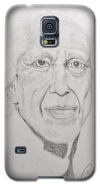 Galaxy S5 Case featuring the painting Time Lines by Rand Swift