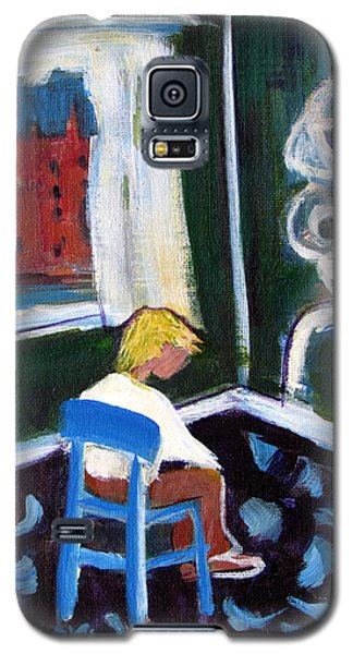 Time Out For De Kooning In A Chair In A Corner Galaxy S5 Case
