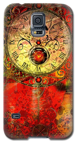 Time Passes Galaxy S5 Case by Ally  White