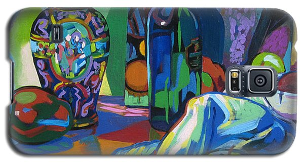 Galaxy S5 Case featuring the painting Time Regained by Clyde Semler