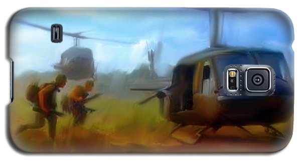 Time Sacrificed II Vietnam Veterans  Galaxy S5 Case by Iconic Images Art Gallery David Pucciarelli