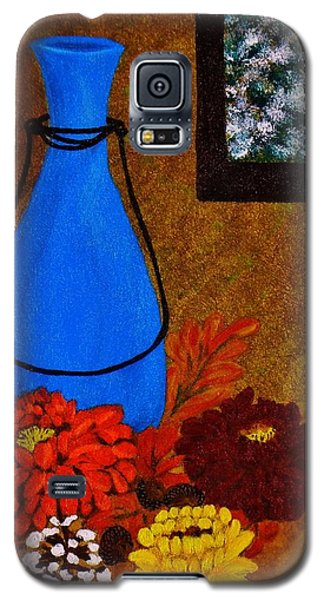 Galaxy S5 Case featuring the painting Time To Decorate by Celeste Manning