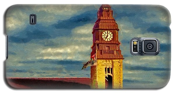 Galaxy S5 Case featuring the painting Time To Go by Jeff Kolker