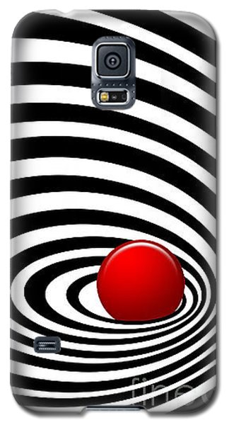 Time Tunnel Op Art Galaxy S5 Case