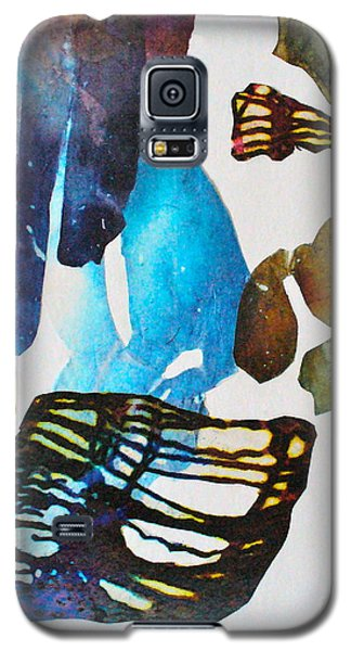 Galaxy S5 Case featuring the painting Time Warp by Mary Sullivan