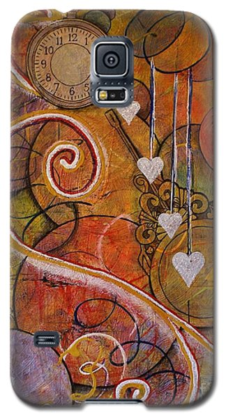 Galaxy S5 Case featuring the painting Timeless Love by Jane Chesnut
