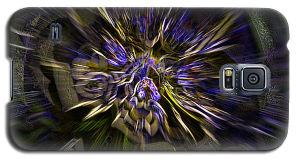Galaxy S5 Case featuring the digital art Timeline by Martina  Rathgens