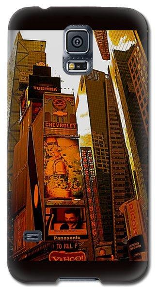 Times Square In Manhattan Galaxy S5 Case