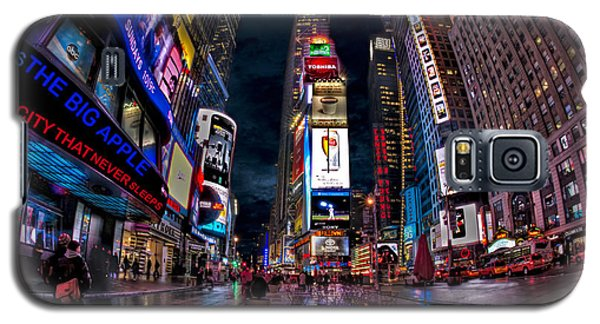 Times Square New York City The City That Never Sleeps Galaxy S5 Case
