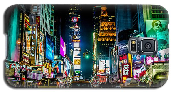 Times Square Nyc Galaxy S5 Case