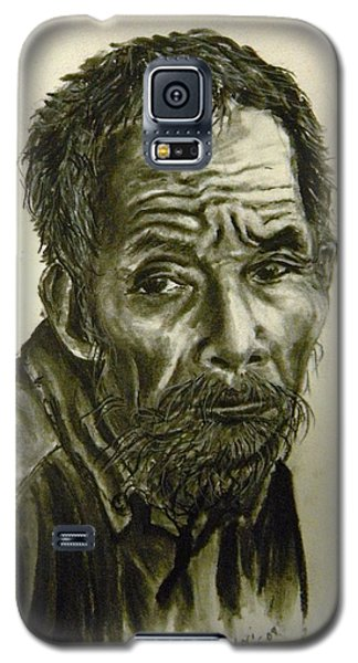 Galaxy S5 Case featuring the drawing Timeworn by Lori Ippolito