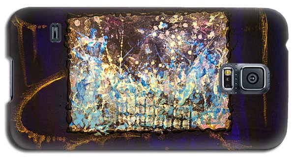 Galaxy S5 Case featuring the painting Timorous by Ron Richard Baviello