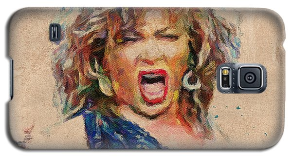 Tina Turner Portrait You Are The Best 1 Galaxy S5 Case