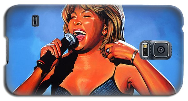 Tina Turner Queen Of Rock Galaxy S5 Case by Paul Meijering