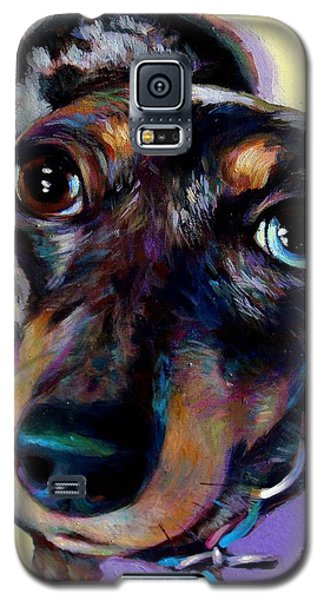 Galaxy S5 Case featuring the painting Tink  by Robert Phelps